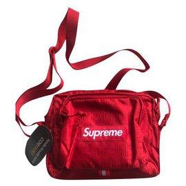 Supreme-Supreme messenger bag new-Red