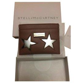 Stella Mc Cartney-Porte-cartes Stars-Rose