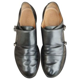 930ca5565 Gucci-monk shoes Gucci size 43 1/2-Black ...