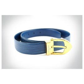 Louis Vuitton-Ceinture-Bleu