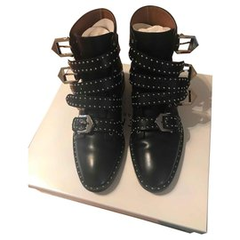 Givenchy-Bottines-Noir