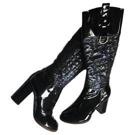 Dolce & Gabbana-Bottes-Noir