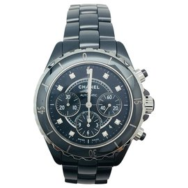 Chanel-Chanel J watch 12 Chronograph.-Other