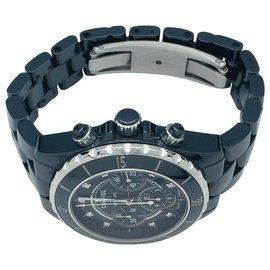 Chanel-Montre Chanel J 12 chronographe.-Autre