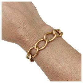 inconnue-Bracelet or jaune brossé.-Autre