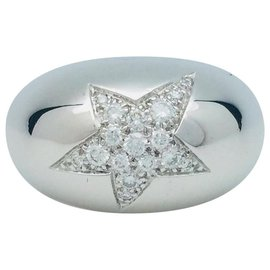 """Chanel-Chanel ring, """"Comet"""", white gold and diamonds.-Other"""