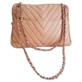Chanel-Chanel vintage camera bag-Sand