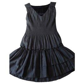Diane Von Furstenberg-Kleid-Grau