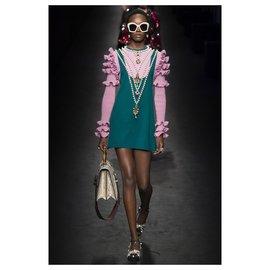 Gucci-Robes-Rose,Vert