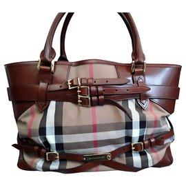 Burberry-Handbags-Beige,Other
