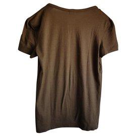 Chanel-Tee shirt-Kaki