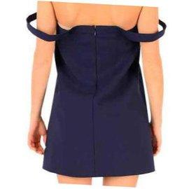 Balenciaga-Robe Balenciaga nouvelle-Bleu
