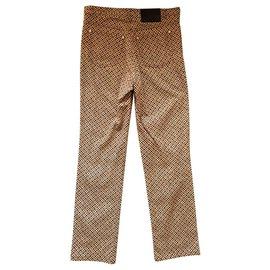 Aigner-Pantalons, leggings-Multicolore