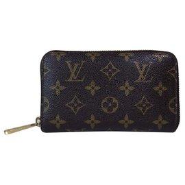 Louis Vuitton-Monogramme zippy louis vuitton-Marron
