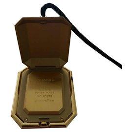 Chanel-CHANEL - Watch Clock-Black,Golden