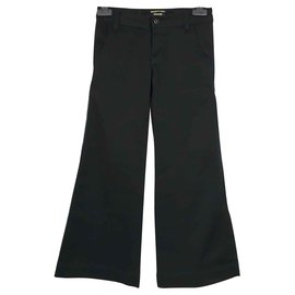 Ra-re-Bell bottom pants trousers-Black