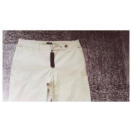 Ikks-Neuf Pantalon IKKS 42 beige-Beige