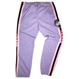 Gucci-Pantalons-Gris
