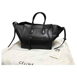 Céline-Céline Luggage Phantom-Black