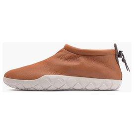 Nike-Loafers Slip ons-Brown