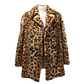Sprung Frères-Manteaux, Vêtements d'extérieur-Imprimé léopard