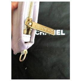 Chanel-Traveline clutch-Lavender