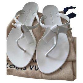 Louis Vuitton-Tongs Louis Vuitton-Blanc
