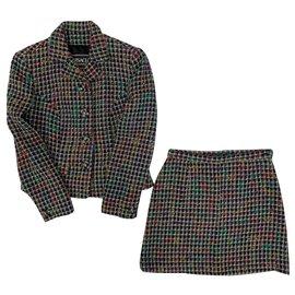 Versace-Versace Jeans Couture skirt suit-Multiple colors