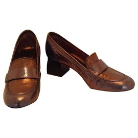 Lanvin-LANVIN chaussures à talons-Métallisé
