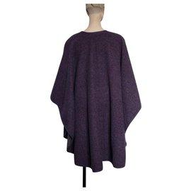 Yves Saint Laurent-Coats, Outerwear-Purple