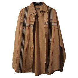 Burberry-Shirts-Beige