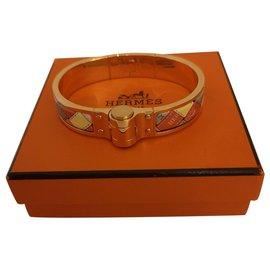 Hermès-Hermès bracelet hinge savana dance-Multiple colors