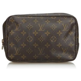 Louis Vuitton-Toilette Monogram Trousse 23-Marron