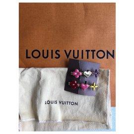 Louis Vuitton-Pinces à cheveux-Doré