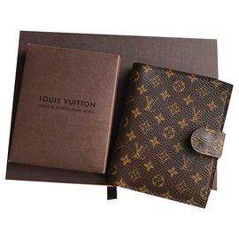 Louis Vuitton-Mini Agenda Edition Limitée 150ème anniversaire-Marron