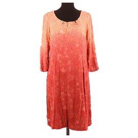 Elisa cavaletti-Dress-Coral