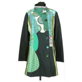 Desigual-Manteau-Multicolore