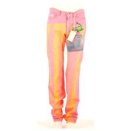 Autre Marque-Pantalon-Rose