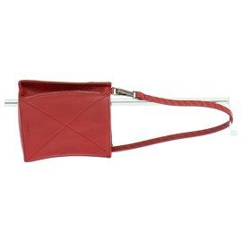 Lancel-Handbag-Red