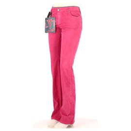 Autre Marque-Pantalon-Fuschia