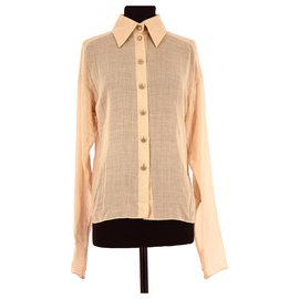 Chanel-Chemise-Beige