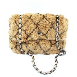 Chanel-de lapin-Marron