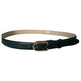 Longchamp-Belts-Black