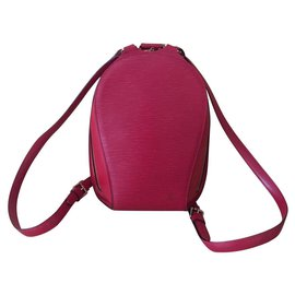 Louis Vuitton-ELLIPSE BACKPACK LOUIS VOUITTON-Rouge