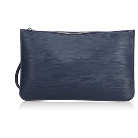 Louis Vuitton-Epi Pouch-Bleu