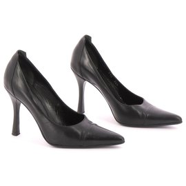 Hugo Boss-Escarpins-Noir