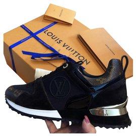 Louis Vuitton-Run Away-Marron,Noir