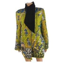 Hermès-Scotland-Black,White,Blue,Yellow
