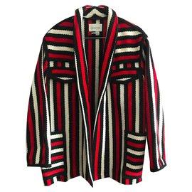 Isabel Marant-Manteaux, Vêtements d'extérieur-Noir,Rouge