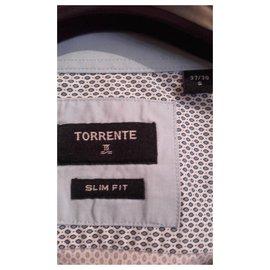 Torrente-Chemise manches longues-Bleu clair